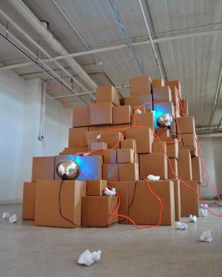 Lacuna (iceburg), sculpture, 2011