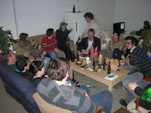 After Free Beer: The Act of Drinking Beer with Friends Is Still the Highest Form of Art (after Marioni) 2009