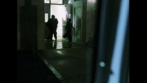 Self Portrait In a Movie That I Wasn't In (Oceans Eleven, 2001), Film still intervention, 2011