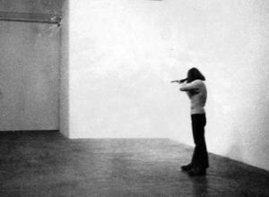 Shoot (sans burden) 5 x 7 Black and White Photograph 2012