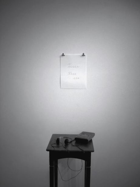 The Impossible Death of Mallarmé Through the Eyes of Broodthaers, 2009