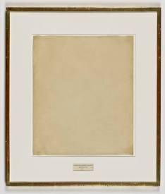 Erased Rauschenberg Drawing, digital intervention, 2016