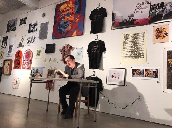 Activist Art Exhibition Arendt Reading