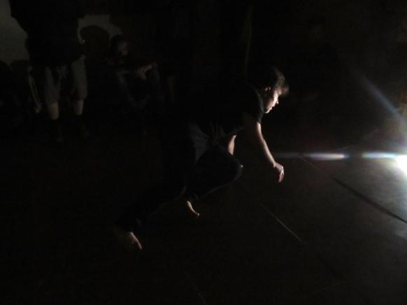 Falling, performance, 2018